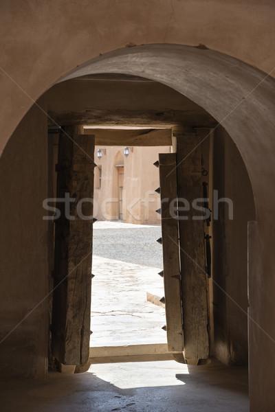 Fort al Jabreen Stock photo © w20er