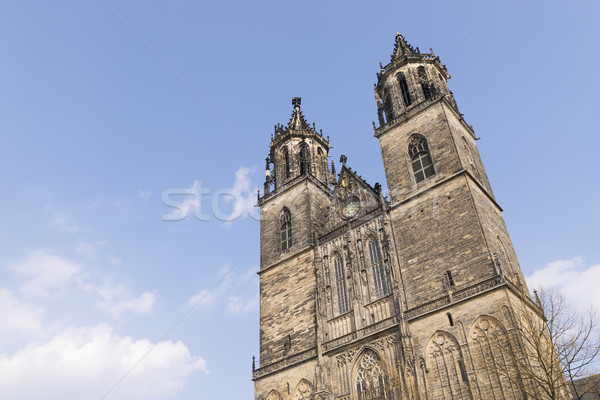 Cathedral in Magdeburg, Germany Stock photo © w20er