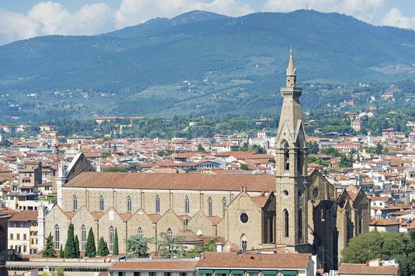 Santa Maria Novella in Florence Stock photo © w20er