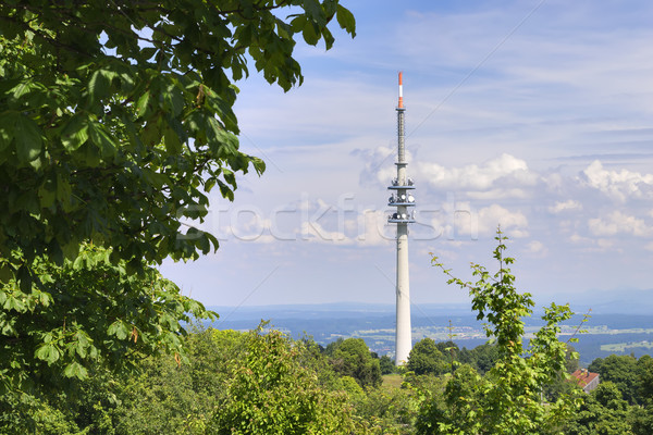 Landscape Broadcasting Tower Stock photo © w20er