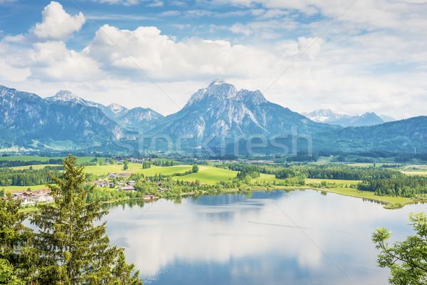 Lake Hopfensee in Bavaria Stock photo © w20er