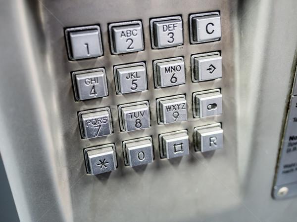 telephone keyboard Stock photo © w20er