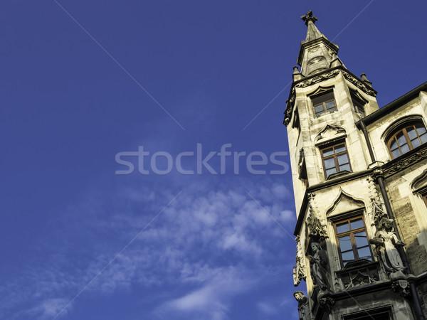 Torre cidade ouvir Munique pequeno Foto stock © w20er