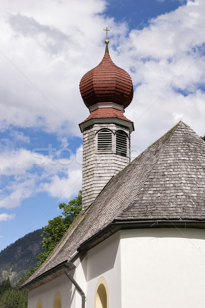 Chapel in Tyrol Stock photo © w20er