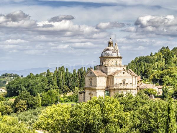 Chiesa di San Biagio Stock photo © w20er