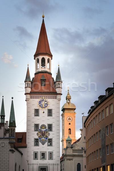 Juguete museo Munich imagen casa azul Foto stock © w20er