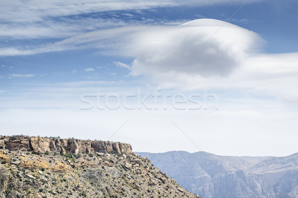 Manzara Umman görüntü plato yol doğa Stok fotoğraf © w20er
