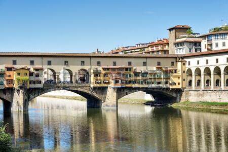 Ponte Vecchio Florence Stock photo © w20er