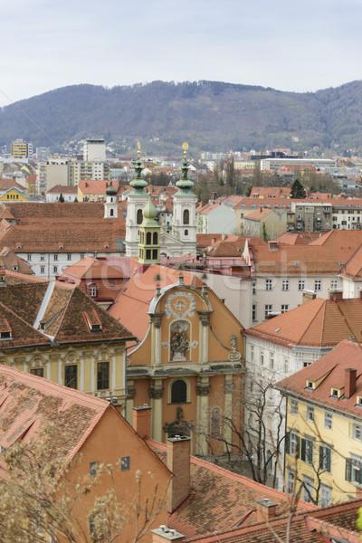Photo stock: Cityscape · Graz · Autriche · image · ville · rue