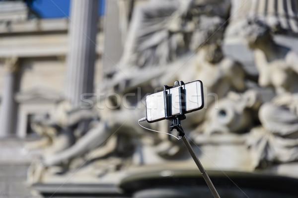 Vara Viena Áustria tecnologia verão Foto stock © w20er