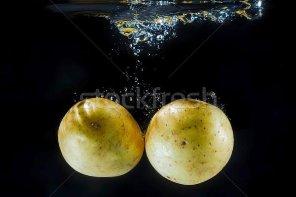 Potatoe under water Stock photo © w20er