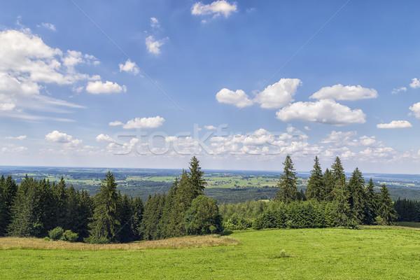 Landscape Bavaria Stock photo © w20er