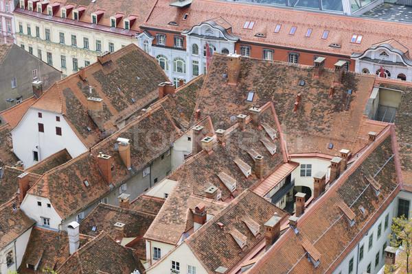 Stock fotó: Városkép · Graz · Ausztria · kép · város · utca