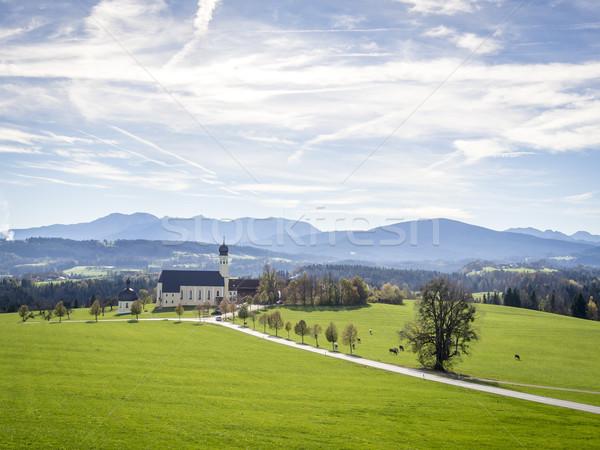 Church Wilparting Bavaria Stock photo © w20er