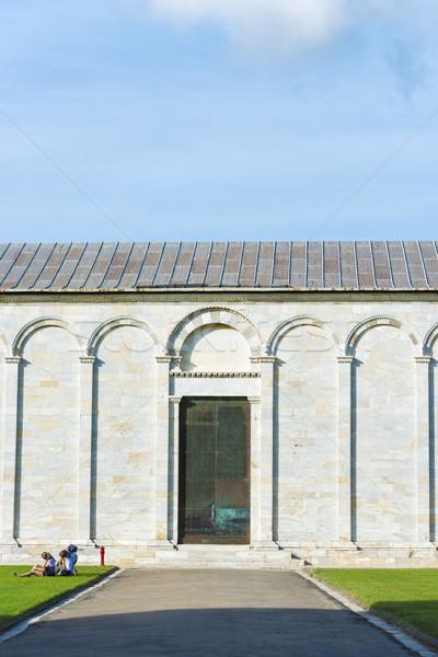Wall Camposanto Monumentale Stock photo © w20er