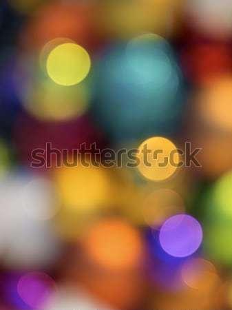 Bokeh kép színek citromsárga arany piros Stock fotó © w20er