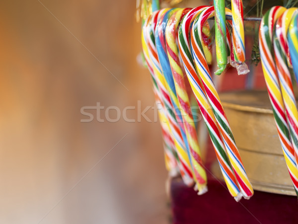 Candy canes Christmas Market Stock photo © w20er