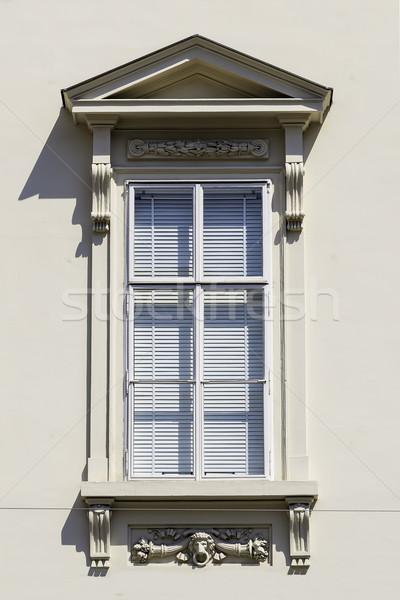 window with closed jalousie Stock photo © w20er