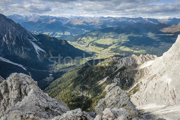 Wild landscape South Tyrol Stock photo © w20er