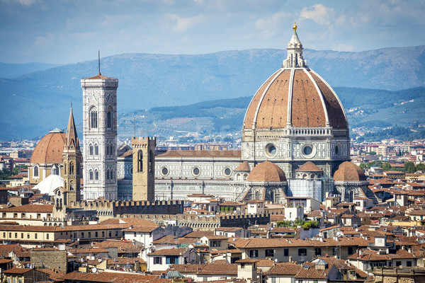 Cathedral Santa Maria del Fiore in Florence Stock photo © w20er