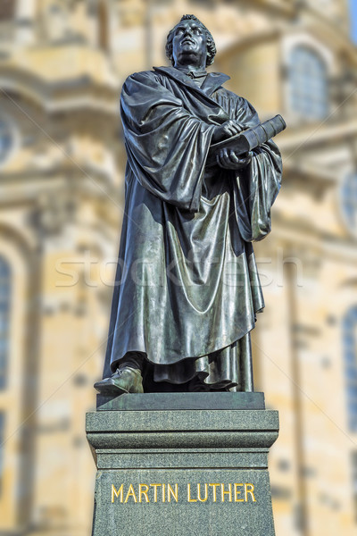 Martin Luther Dresden Stock photo © w20er