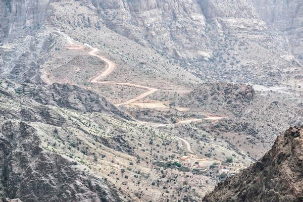 дороги Оман изображение плато природы пейзаж Сток-фото © w20er