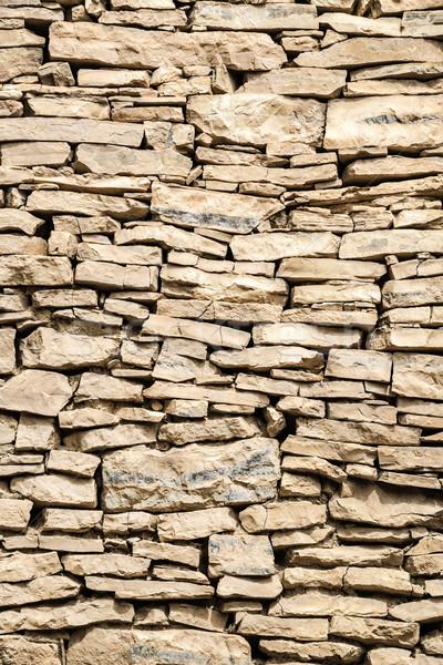 Mur boue image Oman bâtiment construction Photo stock © w20er