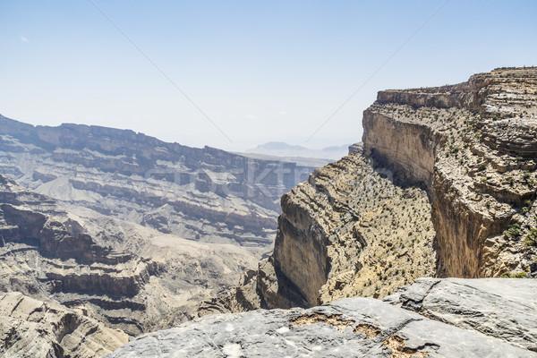 верблюда Оман изображение каньон горные дороги Сток-фото © w20er