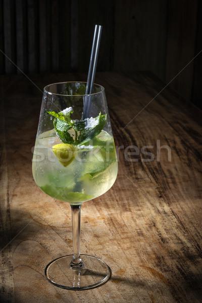 Stock photo: Cocktail Hugo