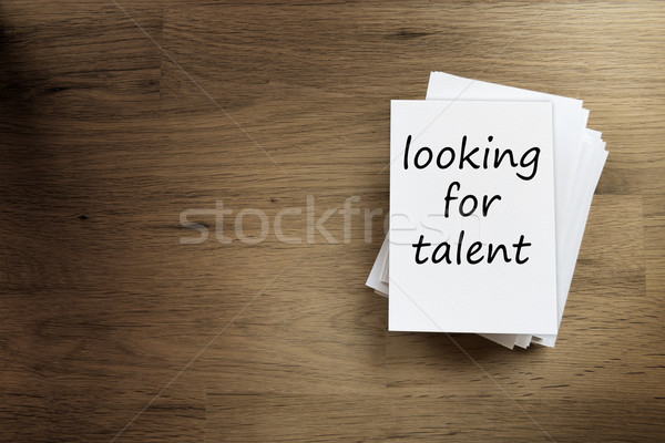 looking for talent Stock photo © w20er
