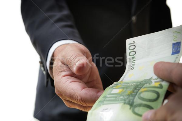 Businessman receives bill Stock photo © w20er