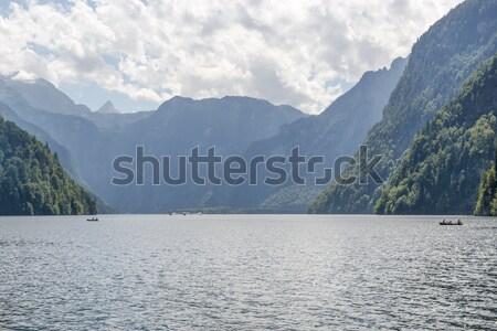 Lake Koenigssee Stock photo © w20er
