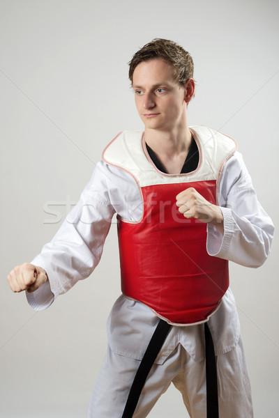 Taekwon-Do fighter Stock photo © w20er