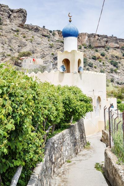 мечети закрывается плато изображение Оман дороги Сток-фото © w20er