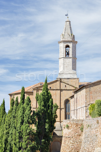 cathedral of pienza Stock photo © w20er