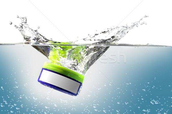 プラスチック ボックス スプラッシュ 画像 無料 ストックフォト © w20er