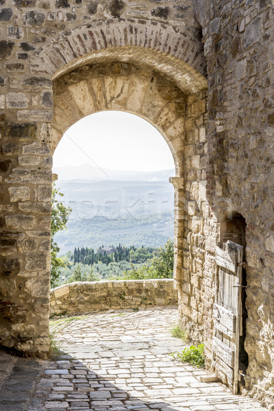 archway in San Quirico Stock photo © w20er
