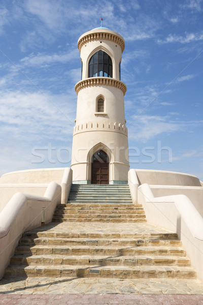 Faro immagine cielo blu cultura orientale Foto d'archivio © w20er