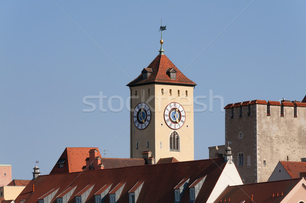 Town hall Regensburg Stock photo © w20er