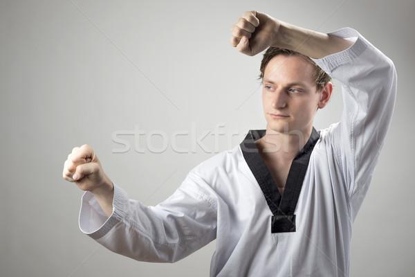 Taekwon-Do defense Stock photo © w20er