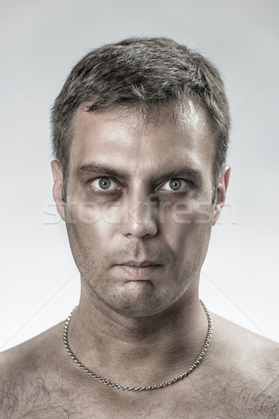 Suffering man Stock photo © w20er