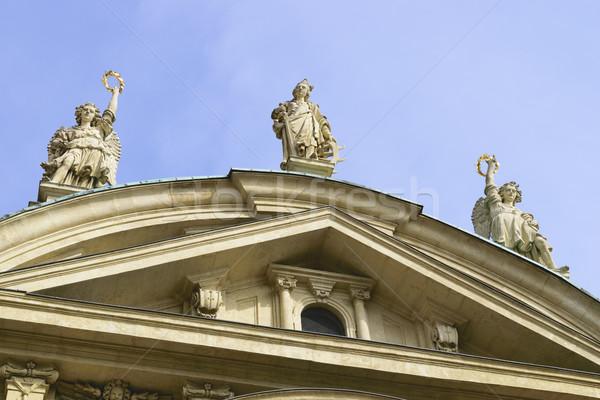 Détail cathédrale Graz Autriche image ciel Photo stock © w20er