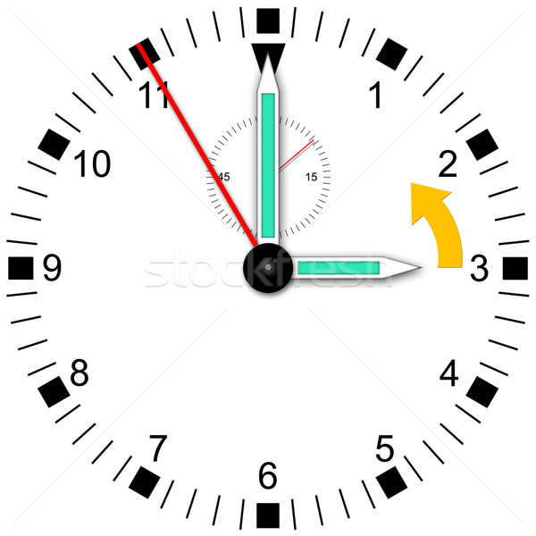 Daylight saving time Stock photo © w20er