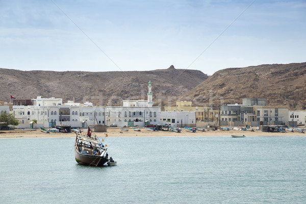 View to Sur bay in Oman Stock photo © w20er