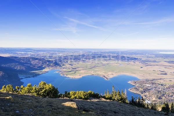 Görmek alpler dağ manzara arka plan yaz Stok fotoğraf © w20er