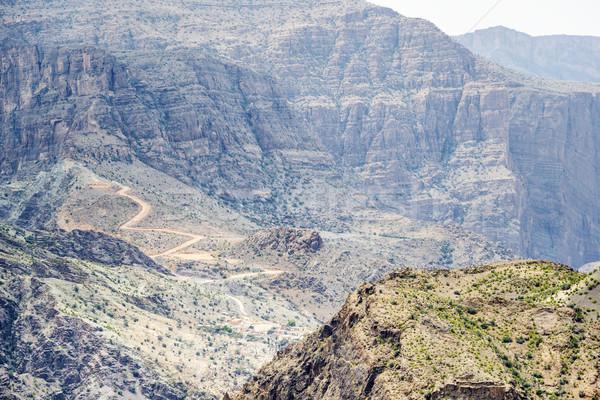 пейзаж Оман изображение плато дороги природы Сток-фото © w20er