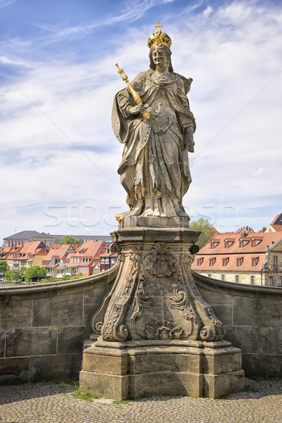 Statue Kunigunde Bamberg Stock photo © w20er