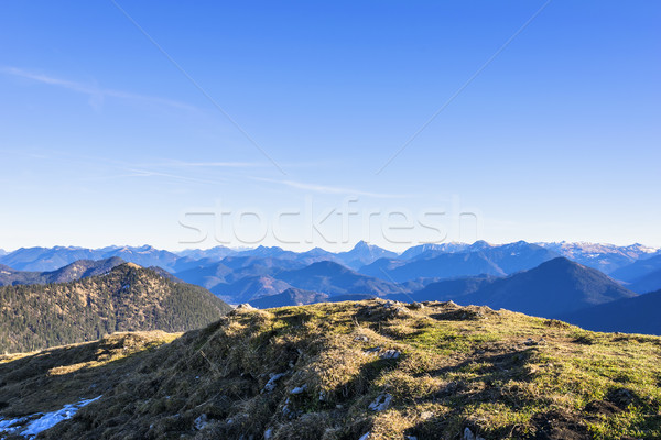 Landscape Bavaria Alps Stock photo © w20er