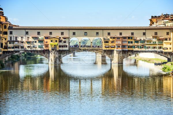 Ponte Vecchio in Florence Stock photo © w20er