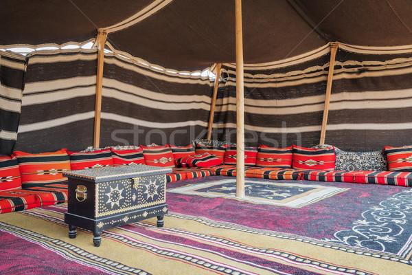 Tent Desert Camp Oman Stock photo © w20er